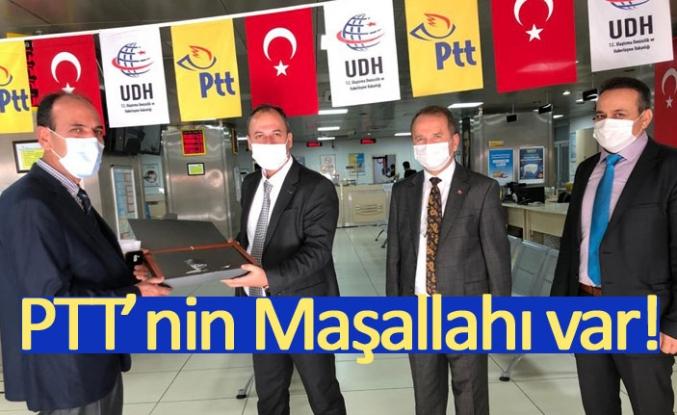 PTT'nin Maşallahı var!