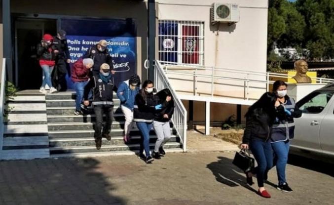 Denizli'de fuhuş ve kumardan 11 kişiye para cezası