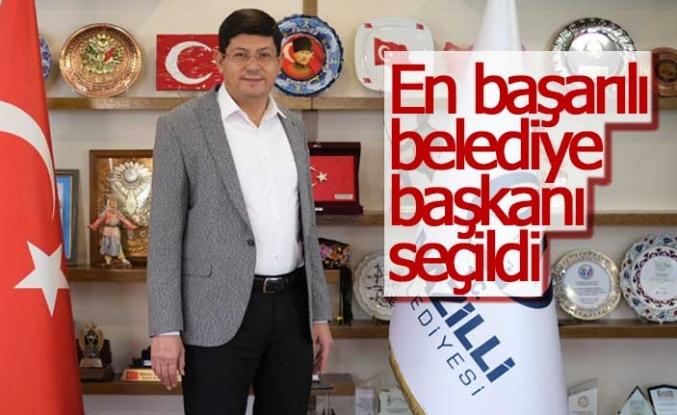 Ege'nin en iyi belediye başkanı belli oldu!