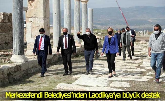 Merkezefendi Belediyesi'nden Laodikya'ya büyük destek