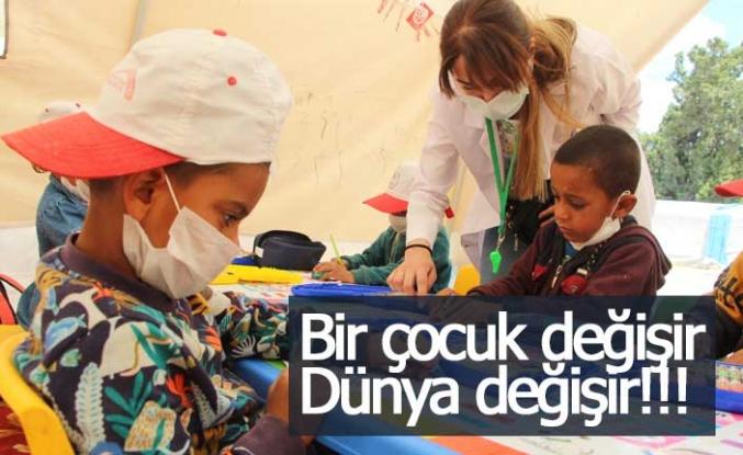 Bir çocuk değişir, dünya değişir!