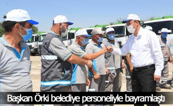 Başkan Örki Pamukkale Belediyesi ailesiyle bayramlaştı