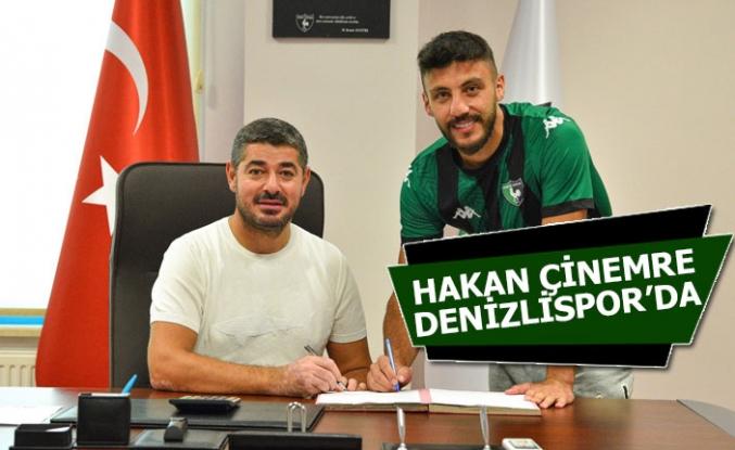 Hakan Çinemre, Denizlispor ile 2 yıllık imzaladı