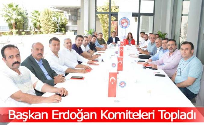 Başkan Erdoğan Komiteleri Topladı