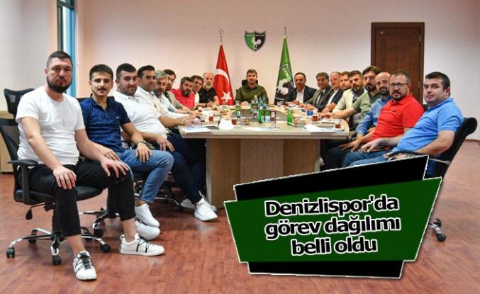 Denizlispor'da görev dağılımı belli oldu