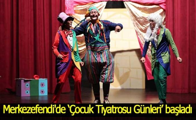 Merkezefendi'de 'Çocuk Tiyatrosu Günleri' başladı