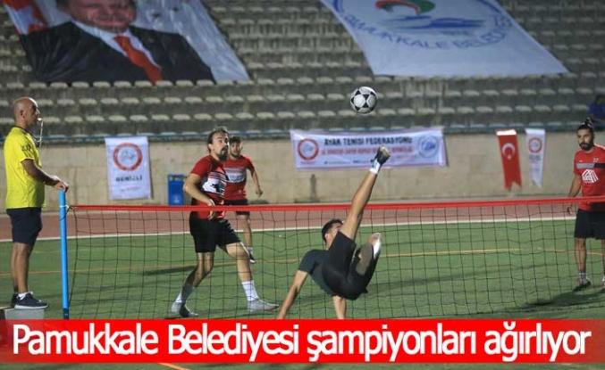 Pamukkale Belediyesi şampiyonları ağırlıyor