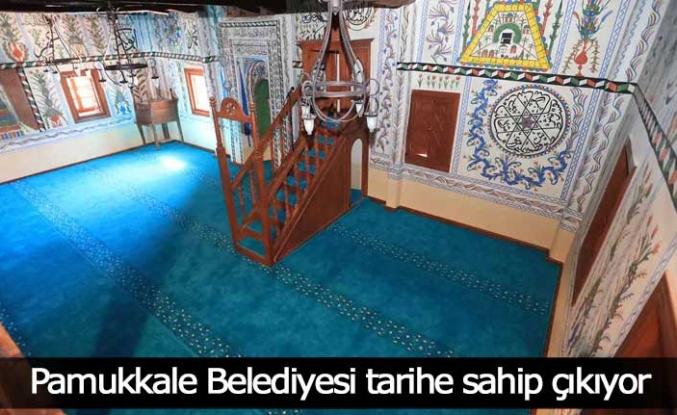 Pamukkale Belediyesi tarihe sahip çıkıyor