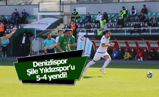 Ziraat Türkiye Kupası: Denizlispor: 5 - Şile Yıldızspor: 4