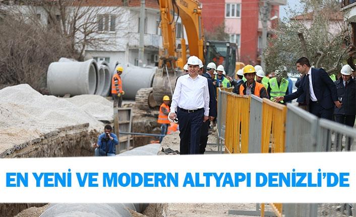 """""""En yeni ve modern altyapı Denizli'de"""""""