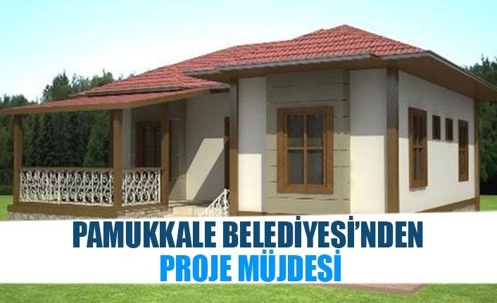 Pamukkale Belediyesi'nden proje müjdesi