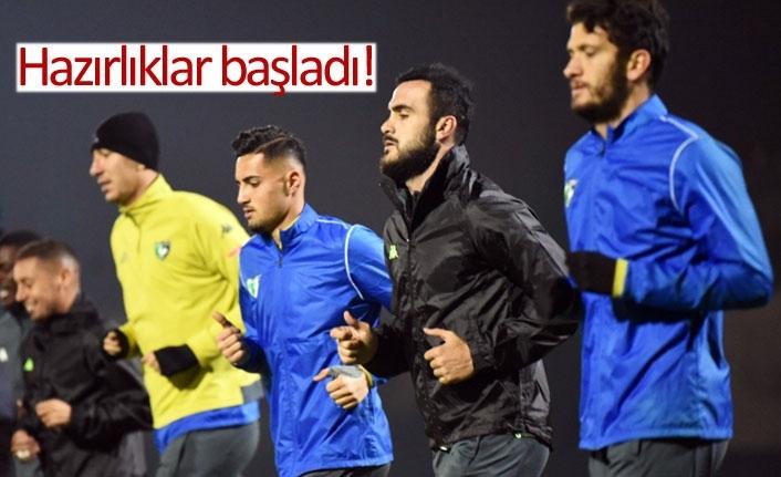 Fenerbahçe hazırlıkları başladı