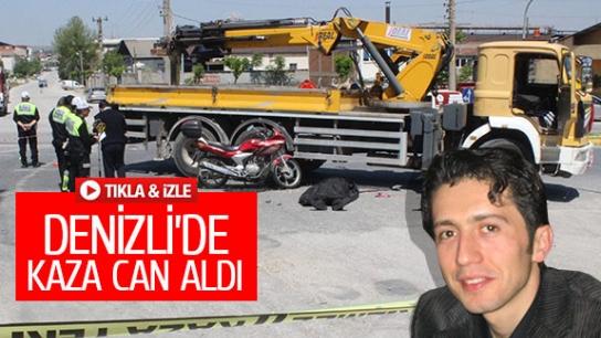 DENİZLİ'DE KAZA CAN ALDI!