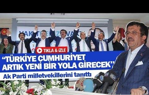 """Bakan Zeybekci: ''Türkiye Cumhuriyet artık yeni bir yola girecek"""""""