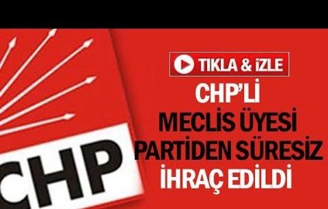 CHP'li meclis üyesi partiden süresiz ihraç edildi