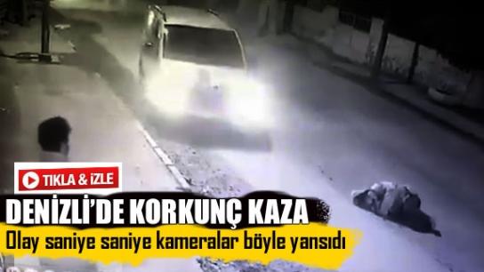 DENİZLİ'DE KORKUNÇ KAZA