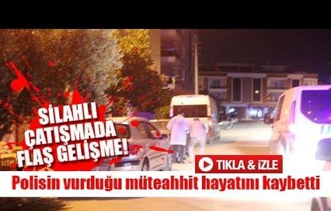Polisin vurduğu müteahhit hayatını kaybetti