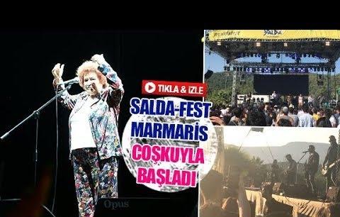 Salda-Fest Marmaris coşkuyla başladı