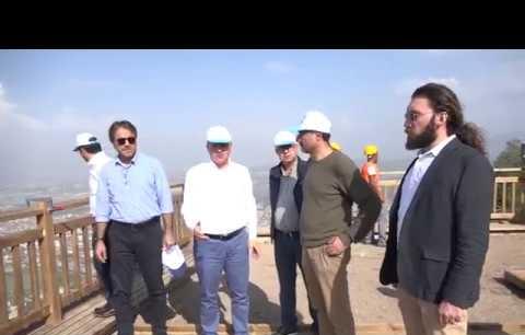 Seyir Tepesi'ne mimarlardan destek